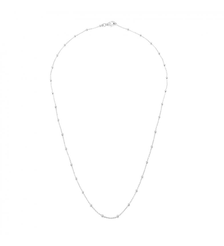 Comprar Yocari Collar Rosario Bolitas plata -40-42 cm-
