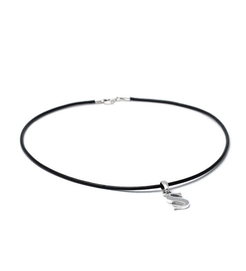 Comprar Yocari Necklace S silver, rubber