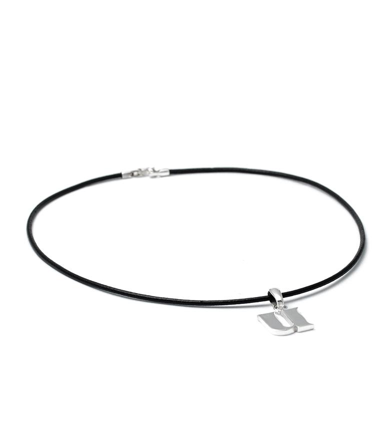 Comprar Yocari Necklace U silver, rubber