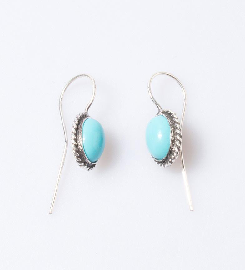 Comprar Yocari Boucles d'oreilles en argent buia, turquoise