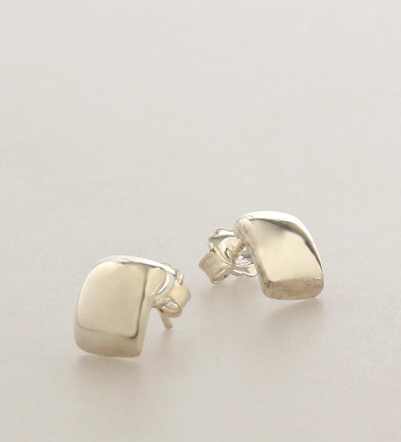 Comprar Yocari Silver smooth earrings