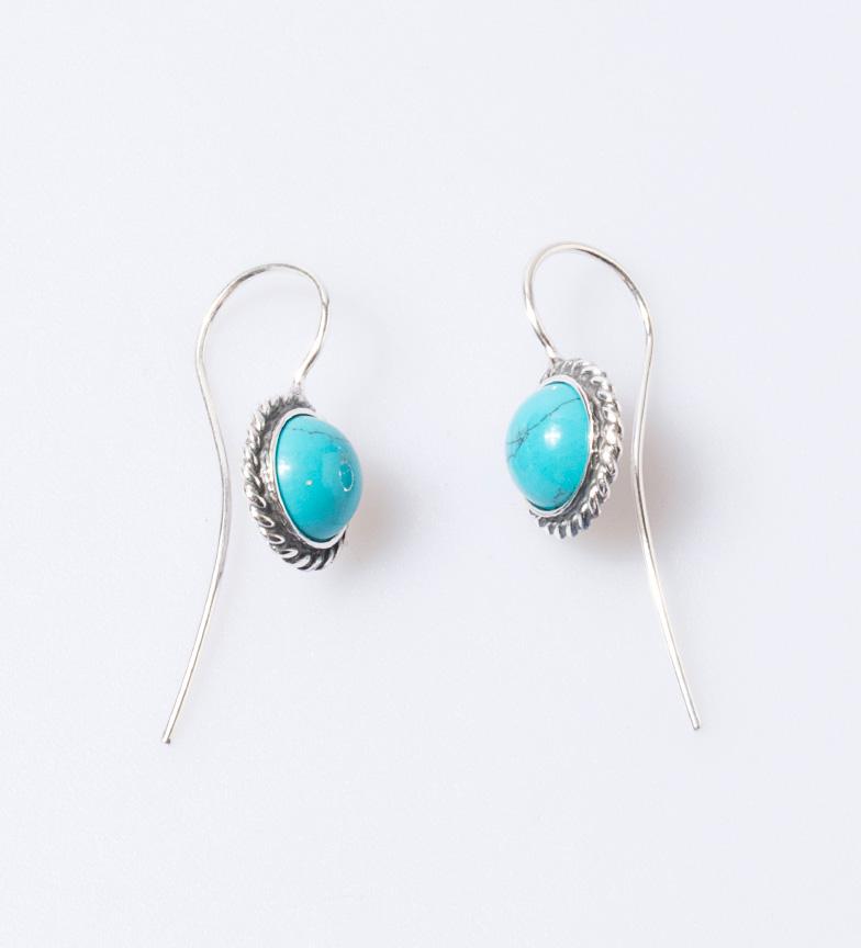 Comprar Yocari Noa silver earrings, turquoise