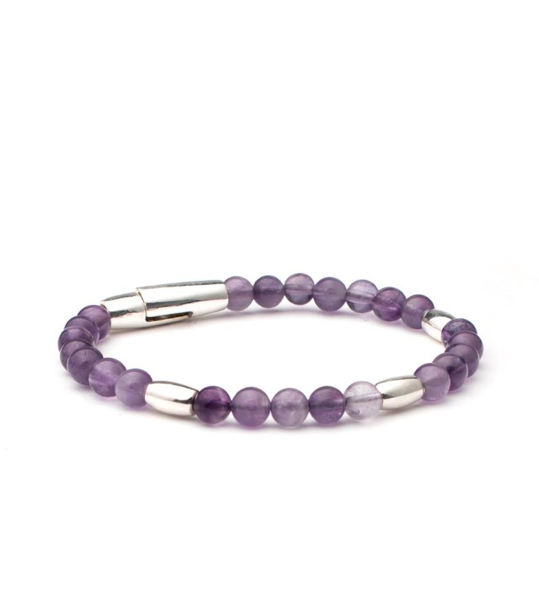 Comprar Yocari Marara Amethyst silver bracelet, amethyst