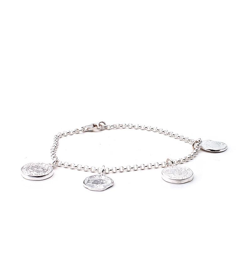 Comprar Yocari Antique Silver Coins Bracelet