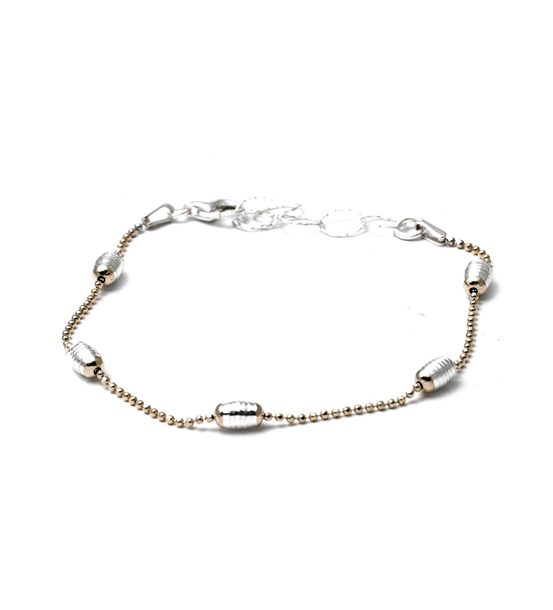 Comprar Yocari Moselle pulseira em ouro banhado a prata