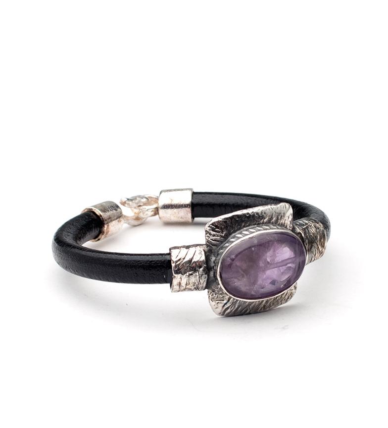 Comprar Yocari Terra pulseira de prata, ametista, talão