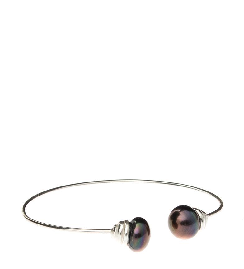 Comprar Yocari Braccialetto in argento sterling con perle coltivate grigio scuro