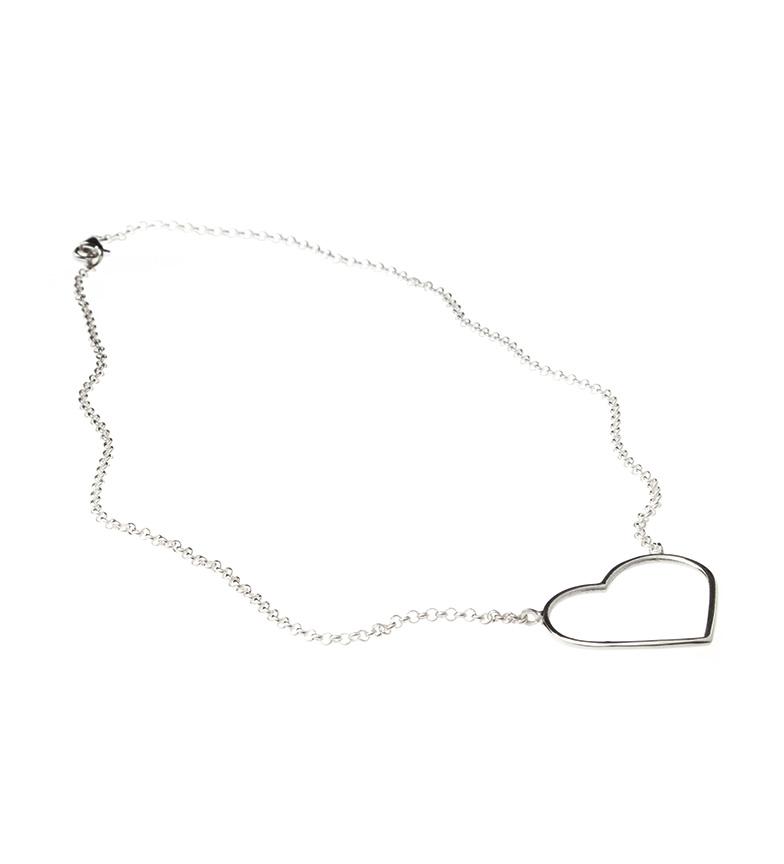 Comprar Yocari Collana con grande cuore in argento sterling