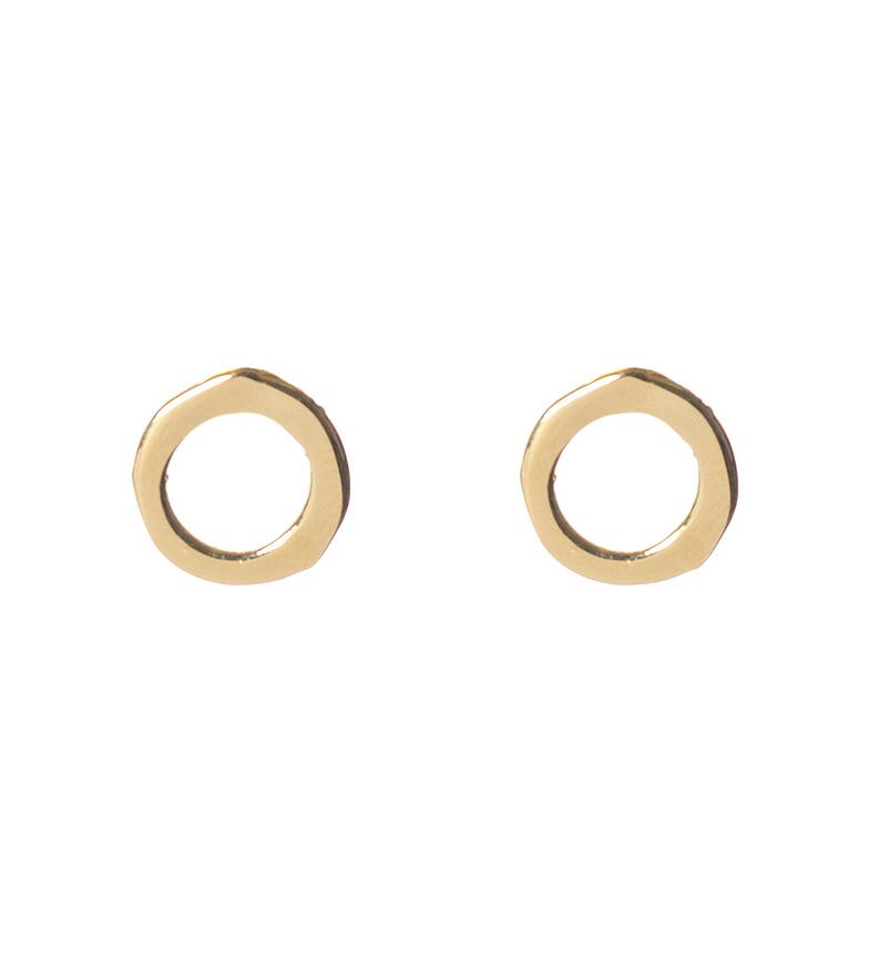 Comprar  Orecchini in argento sterling con ciambella placcati oro 18 carati