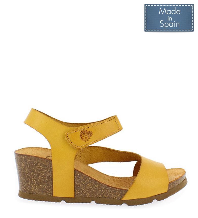 De Cadiz Yokono Mostazaaltura 5cm Sandalias 098 Piel Cua5 0wZ8OknPNX