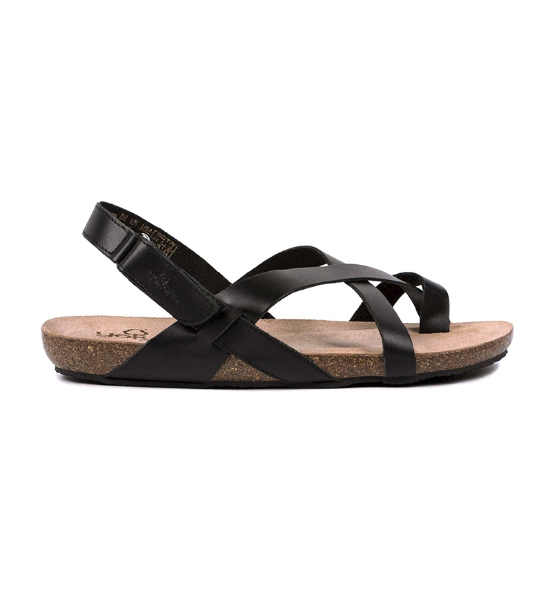 Comprar Yokono Leather sandals Ibiza 718 black