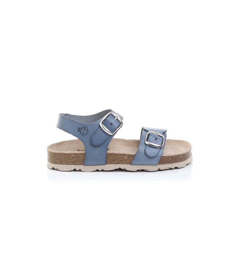 Comprar Yokono Sandálias de couro Jamaica-057 azul
