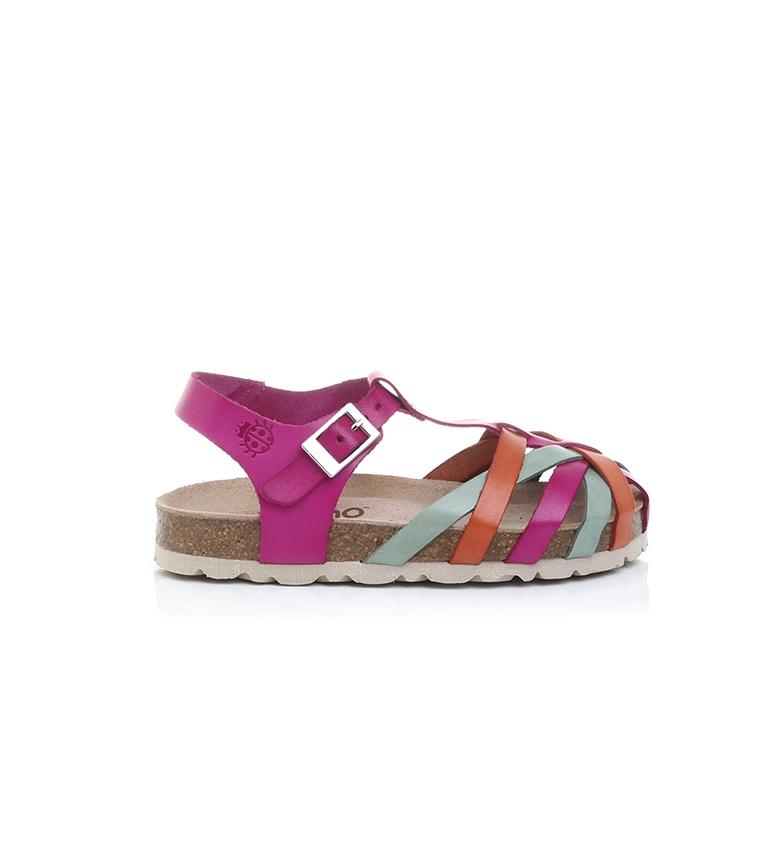 Comprar Yokono Fuchsia Jamaica-060 sandálias de couro