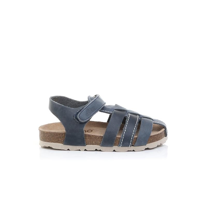 Comprar Yokono Sandálias de couro Jamaica-060 marinho