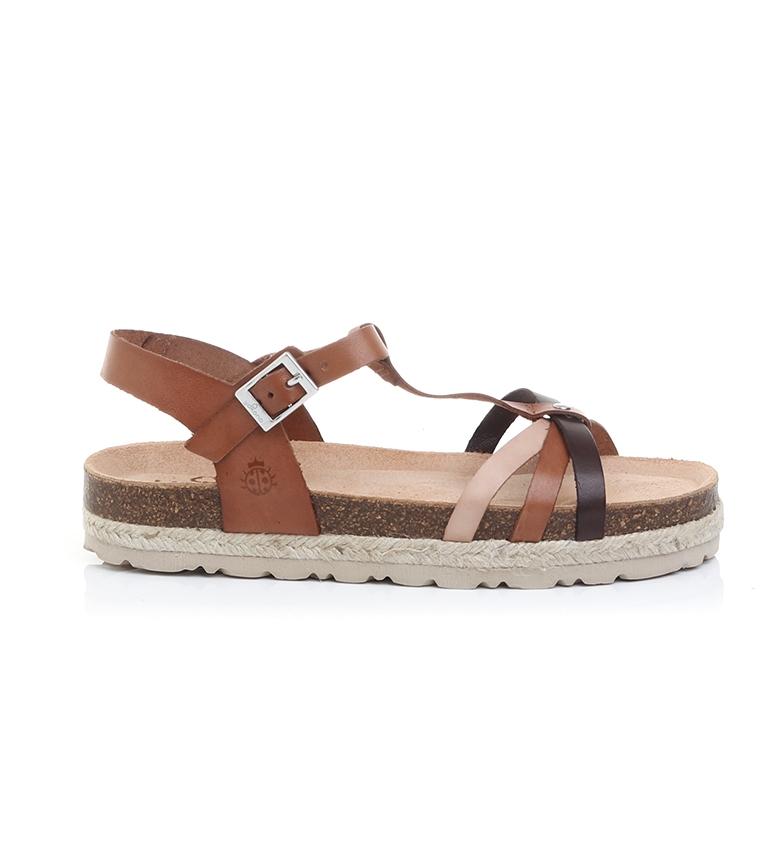 Comprar Yokono Java 063 sandali in pelle multicolore