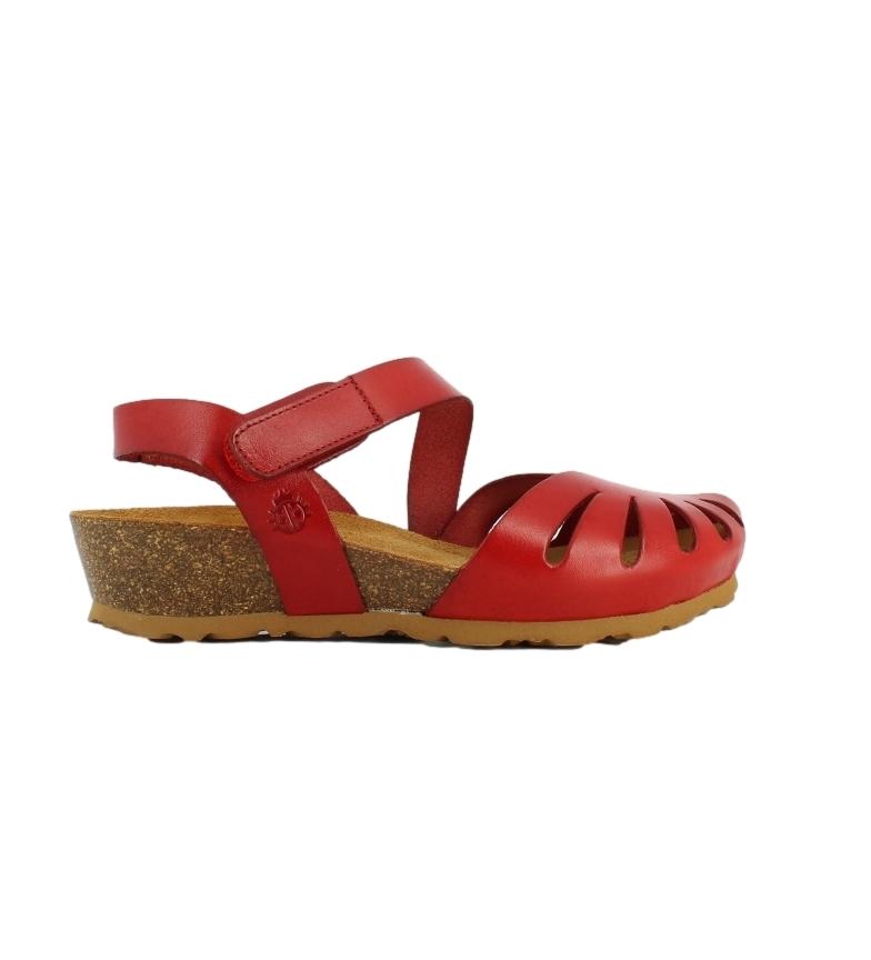 Comprar Yokono Sandálias de couro Monaco-114 vermelho