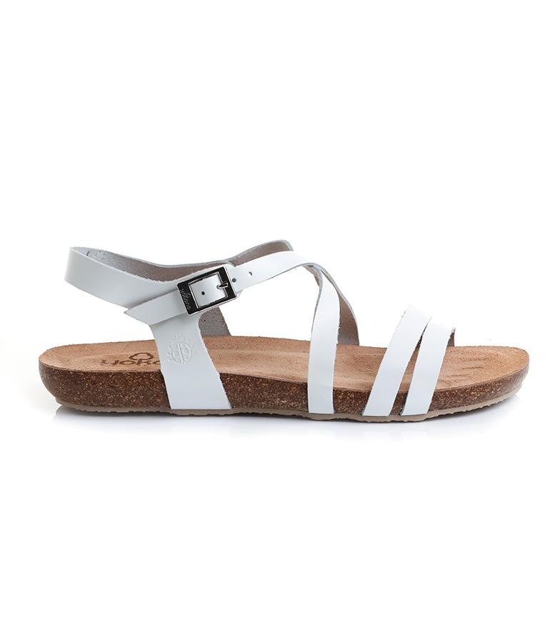 Comprar Yokono Sandálias de couro Ibiza 110 branco