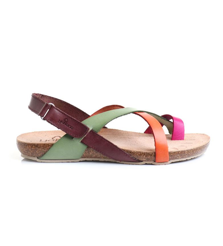Comprar Yokono Leather sandals Ibiza 718 multicolor