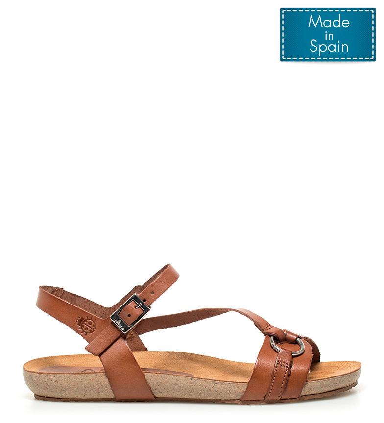 Comprar Yokono Sandalias de piel Ibiza marrón