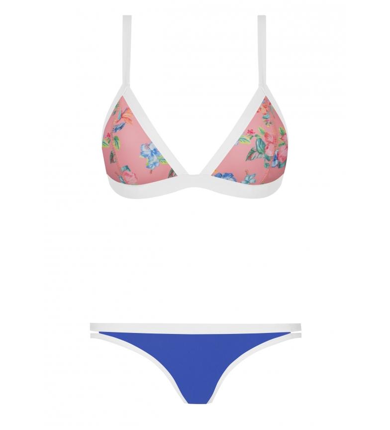 Yshey Bikini Kelly Hibiscus multicolor