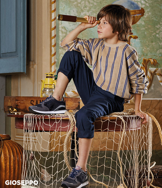 Fashion, footwear and accessories for boys